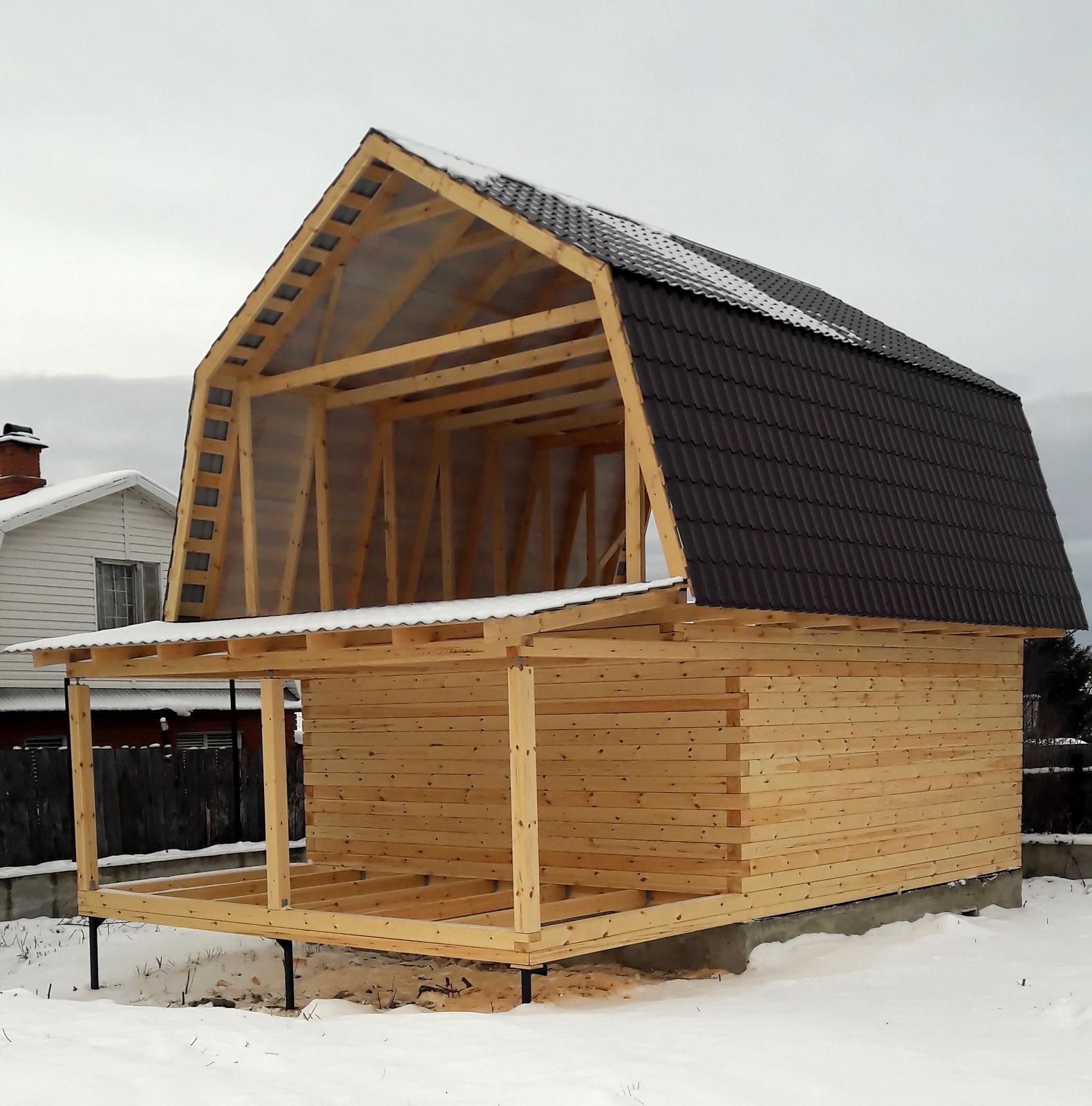 Баня-дом 6x9м БД-51
