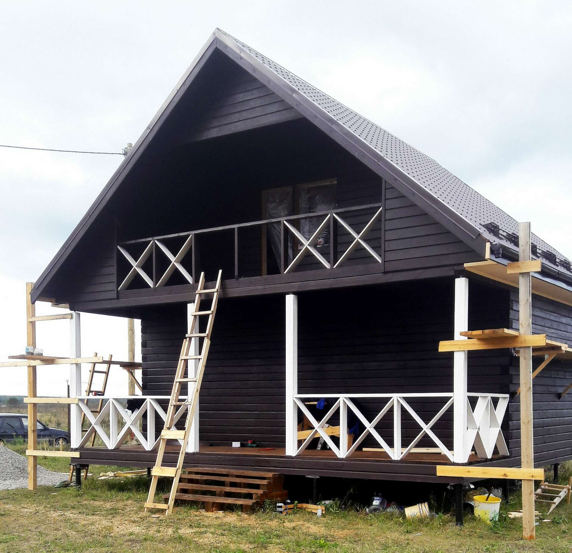 Дом 8х8м ДБ-41